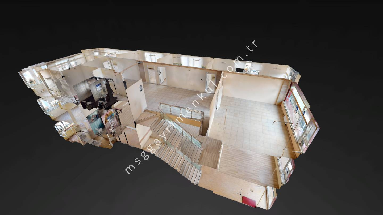 3D Çekim - Ümitköy 8. Cadde Kiralık İşyeri