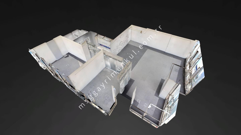 3D Çekimli - Söğütözü Kiralık Plaza Ofisi