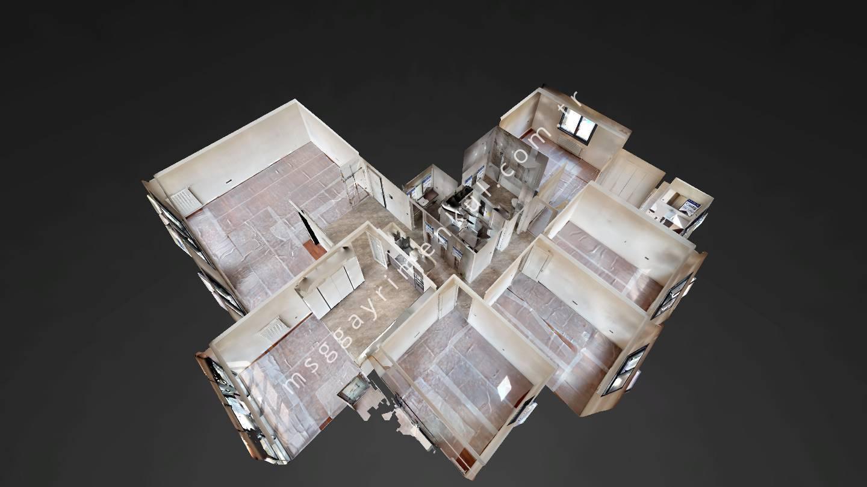 3D - Beytepe Satılık 4+1 Daire