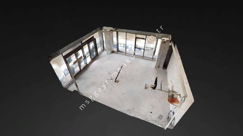 3D Çekim - Satılık Plaza Ofisi